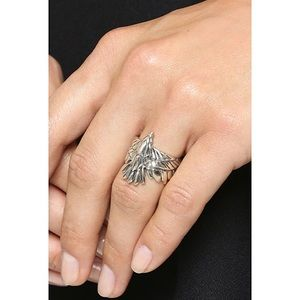 Pamela Love sterling silver eagle ring